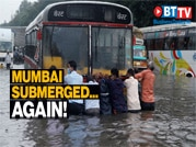 Heavy rains lash Mumbai again, IMD issues Red Alert