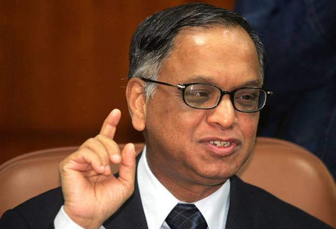 Infosys co founder NR Narayana Murthy