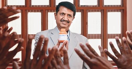 M.V. Hemanth Kumar, Managing Director