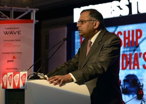 TCS CEO and MD N Chandrasekaran