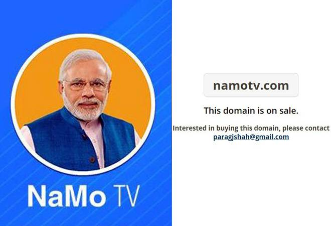 The curious case of NaMo TV: Now, owner puts domain namotv.com up for sale