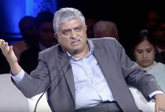 Nandan Nilekani bats for digital disruption; says companies must adapt new technologies to thrive