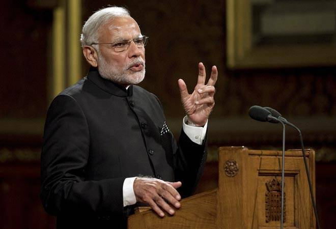 PM Narendra Modi tears into critics; says GDP slid to 5.7% or below 8 times under UPA