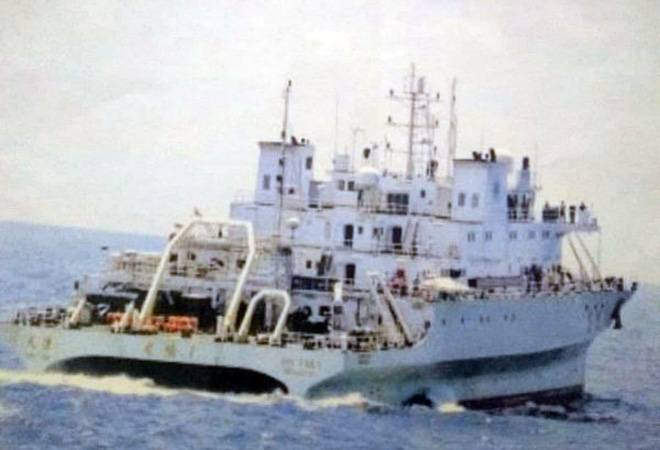 Indian Navy drives away Chinese 'spy' vessel from Indian waters