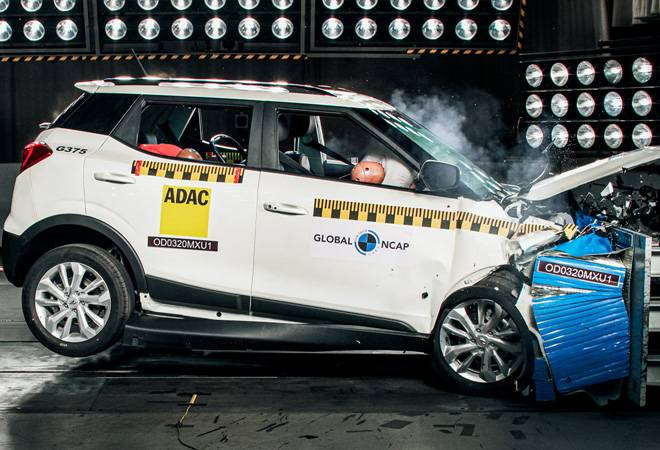 Mahindra XUV300 comes with safety features such as dual airbags,side-impact airbags and ESC
