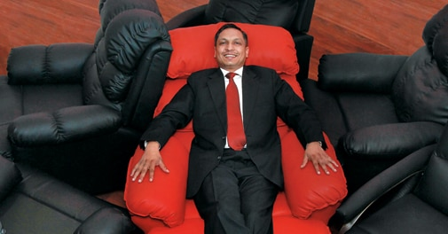 Neeraj Bansal, Co-founder & CEO, Recliners India