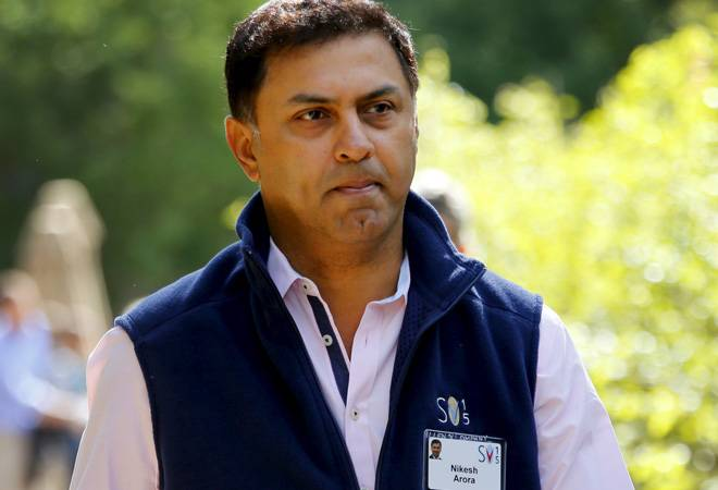 Softbank CEO Nikesh Arora