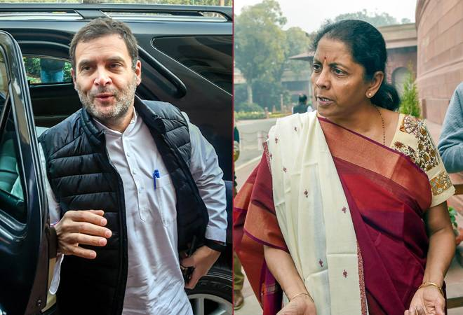 'I come from a middle class family, not a khandan,' Nirmala Sitharaman blasts Rahul Gandhi in Lok Sabha