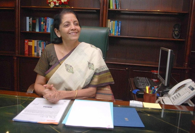 Minister of State for Finance Nirmala Sitharaman