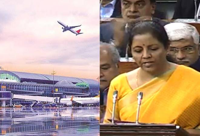 Budget 2020: 100 more airports to be developed by 2025 under Udan, says FM