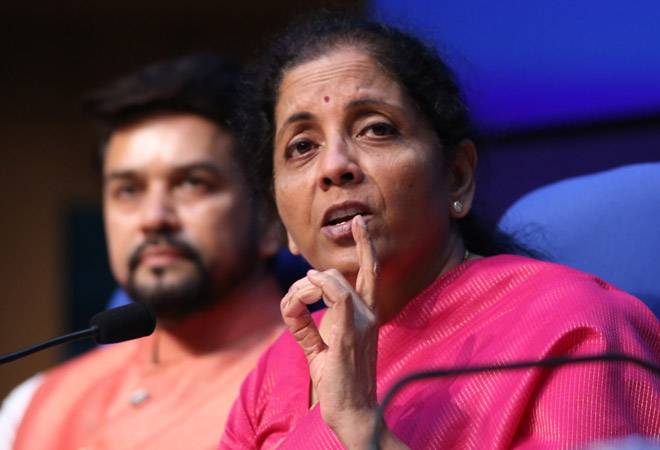 Govt to announce two big steps to boost industry, says FM Sitharaman