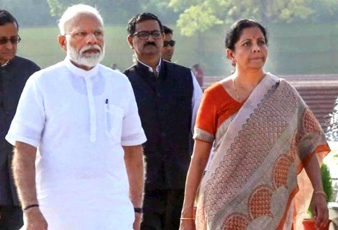 PM Modi assesses state of economy with Sitharaman, FinMin officials; brainstorms to tackle fast-spreading slowdown