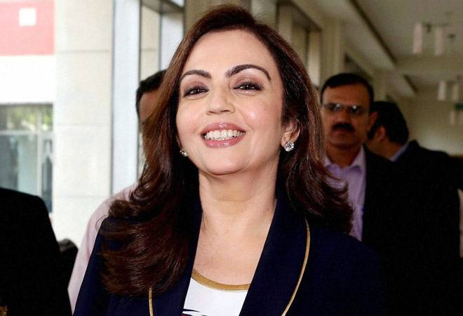 Nita Ambani among top global philanthropists; ranked with Tim Cook, Oprah Winfrey