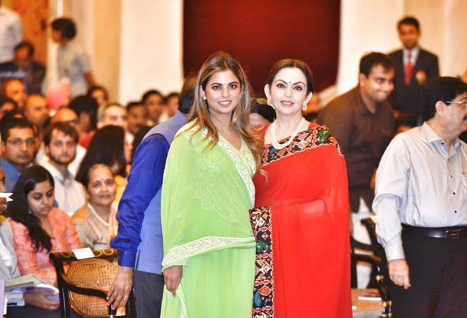WATCH: Nita Ambani dancing to Sridevi's hit number at Isha Ambani's engagement bash