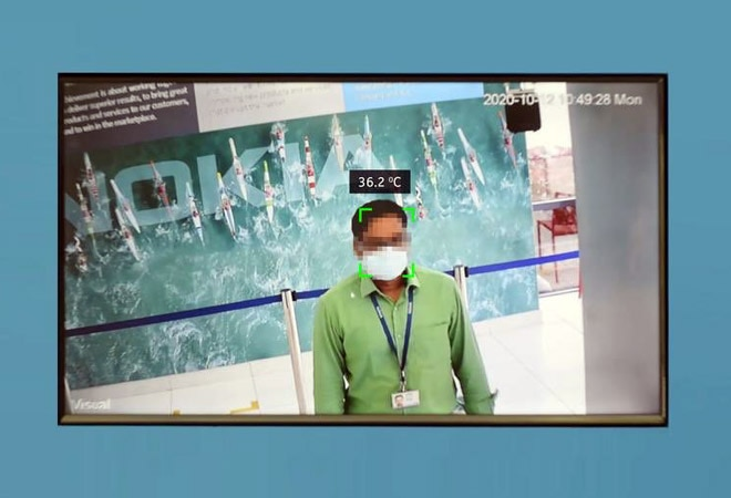 Nokia develops COVID-19 detection system; here's how it detects temperature, mask