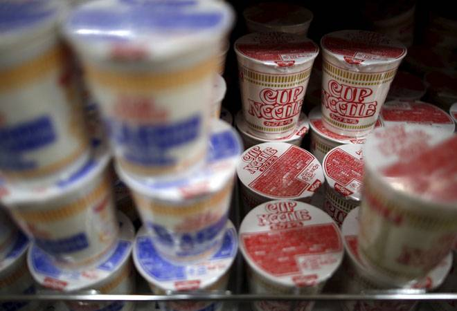 Cup noodles, chocolates keep Japan's economy going