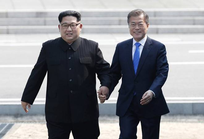 North Korea's Kim Jong Un says he, Moon Jae-in are on starting line of new Korean history