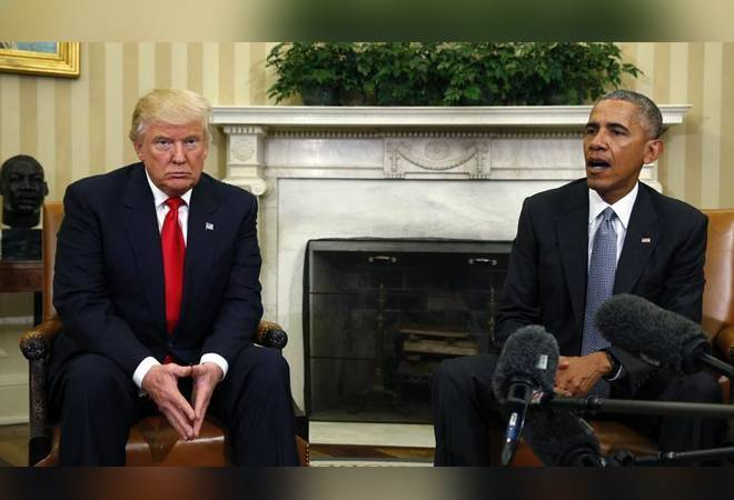 Obama was 'grossly incompetent', says Trump