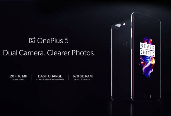 OnePlus 5 launched for $499: Camera, performance, battery and more