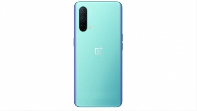 OnePlus Nord CE 5G in Blue Void colour