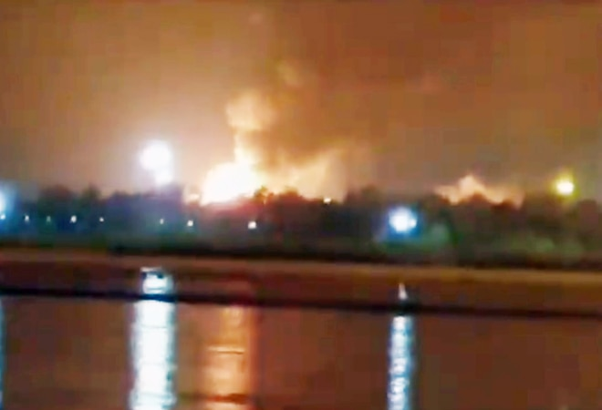 Fire breaks out at ONGC plant in Surat after 3 blasts