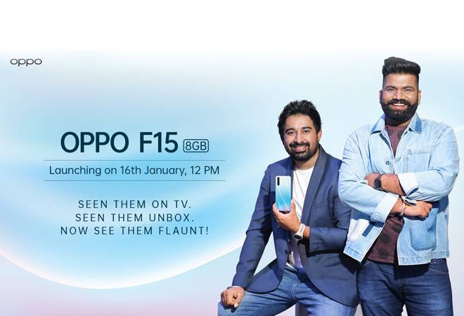 Oppo F15 to launch today: Here's all about the expected Oppo F15 price,Oppo F15 specifications and much more