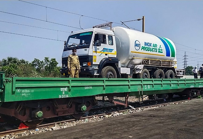Railway Ministry to transport liquid oxygen to help states combat COVID surge