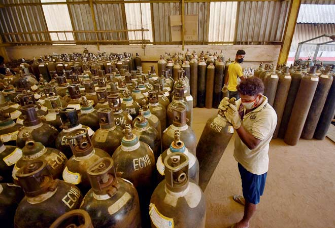 Oxygen crisis: Centre relaxes norms to fast track approvals for imported cylinders