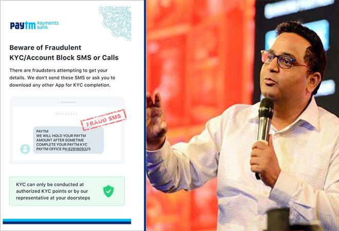 Have you received this Paytm message? Don't believe it, says Vijay Shekhar Sharma