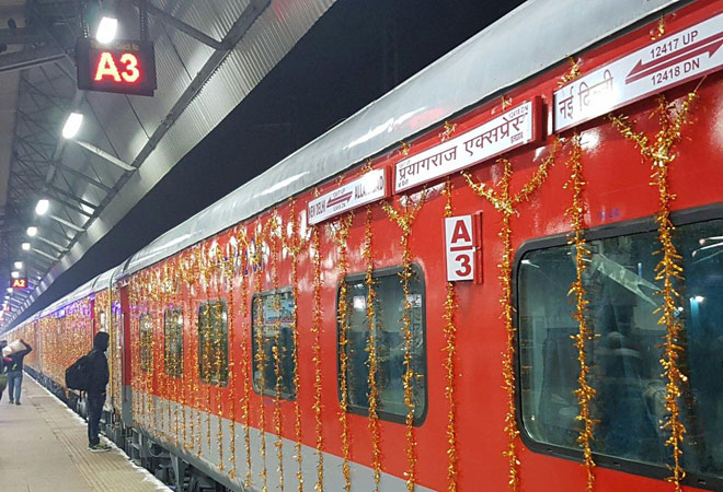 Prayagraj Express becomes India's first train with 24 coaches to run at 130kmph
