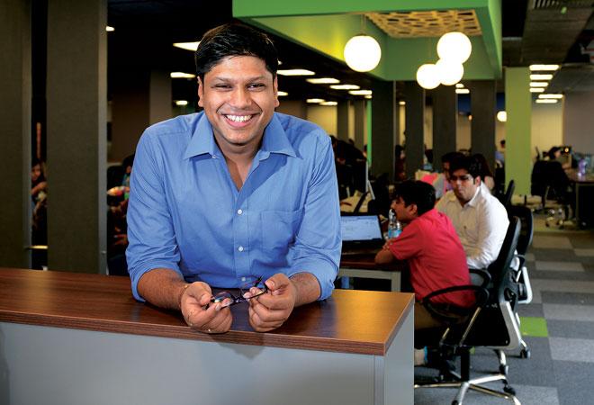 Peeyush Bansal, founder of Lenskart