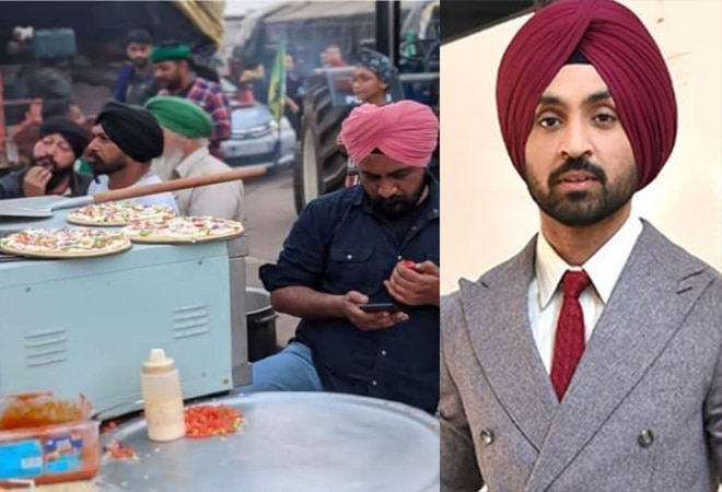 Diljit Dosanjh takes a dig at those who criticised 'pizza langar' for farmers