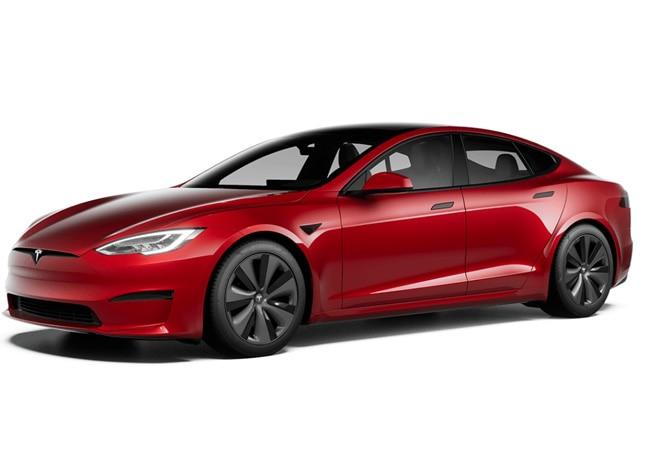 Elon Musk unveils Tesla's fastest car yet, the Model S Plaid