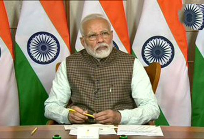 COVID-19: PM Modi speaks to four CMs on pandemic situation in states/UTs