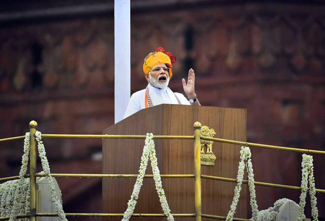 Independence Day: 'Citizen, 'freedom', 'water' dominate Modi's 2nd longest speech in 6 years