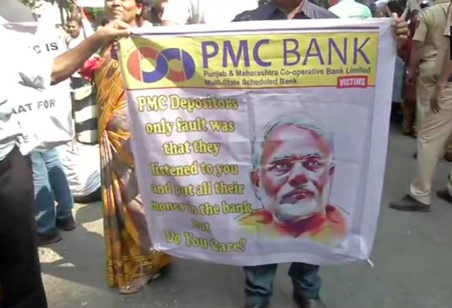 PMC Bank scam: Depositors protest outside Matoshree; meet Uddhav Thackeray