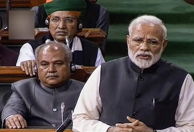 Congress-mukt Bharat is merely fulfilling Mahatma Gandhi's dream, says PM Modi in Parliament