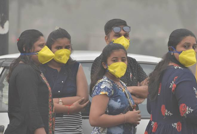 Delhi pollution: Air quality index touches 'severe' level at most stations; Noida's Sector 62 records highest AQI of 714