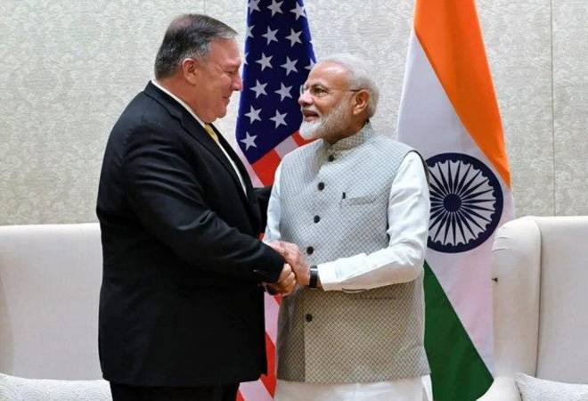 Mike Pompeo in India: US Secretary of State meets PM Modi, holds talks to iron out thorny issues