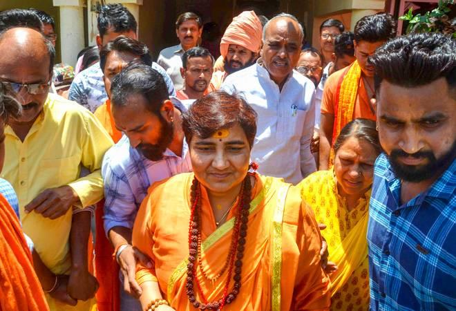 EC bars Pragya Thakur from campaigning for 72 hours for Babri, Karkare remarks