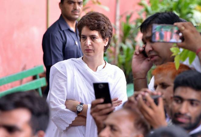 Security breach at Priyanka Gandhi's residence after removal of SPG cover, matter taken up with CRPF