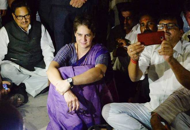 Priyanka Gandhi's aide threatens to thrash journalist; BJP slams Congress leader