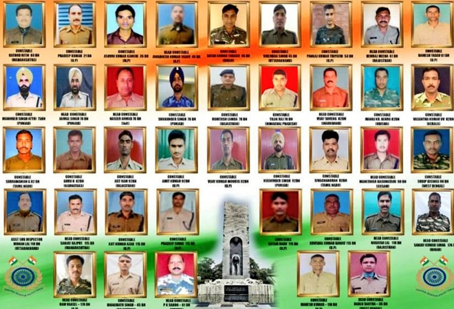 Pulwama attack anniversary: Netizens pay tribute to CRPF soldiers