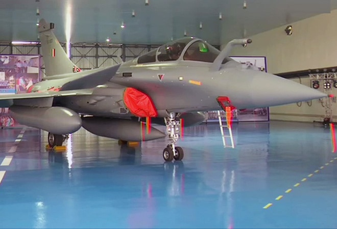 Rafale Induction Highlights: Rafale aircraft formally inducted into IAF