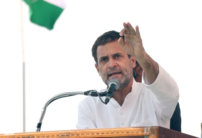 'Saddam Hussein, Gaddafi too won elections': Rahul Gandhi takes a dig at Centre