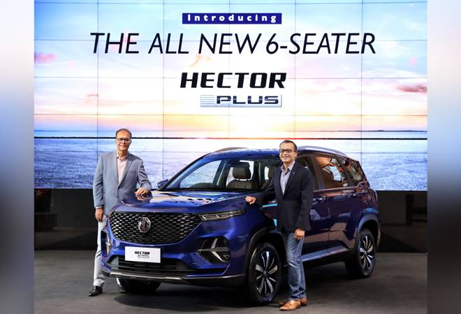 China's SAIC-backed MG Motor launches 6-seater version of Hector SUV in India