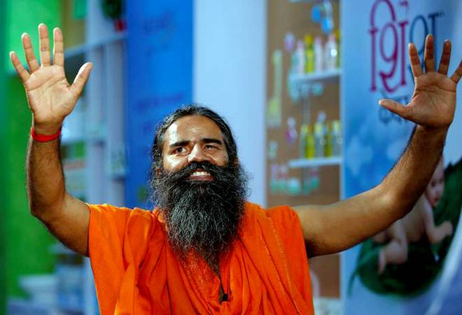 Baba Ramdev launches swadeshi apparel store Patanjali Paridhan in Delhi today