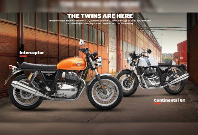 Royal Enfield finally reveals the Interceptor 650, Continental GT 650; to start selling next year