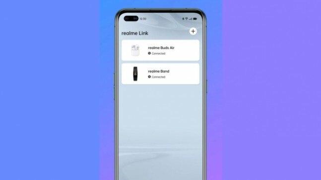 Realme Link app