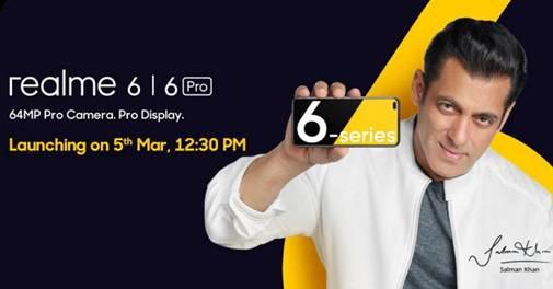 Realme 6 Realme 6 Pro Launch Date Announced Check Out Price Specs